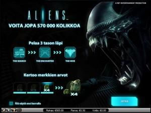 NetEnt Uutuuspeli Aliens